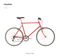 Tokyobike CS Salmon Red